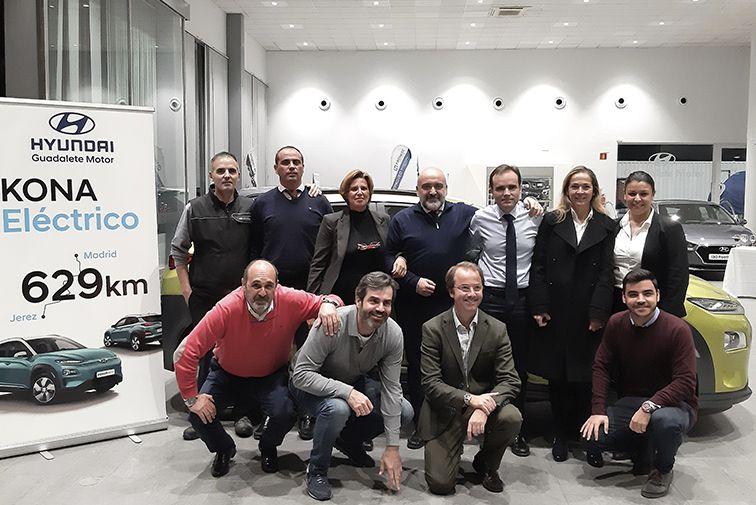Reto Madrid- Jerez Hyundai Kona 100% eléctrico