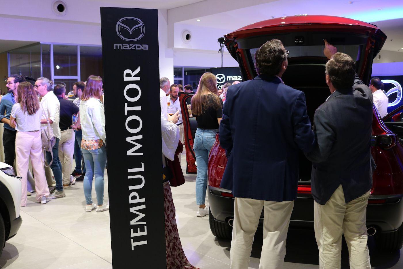 Puesta de largo del nuevo Mazda CX-30 y Mazda 3 en Tempul Motor