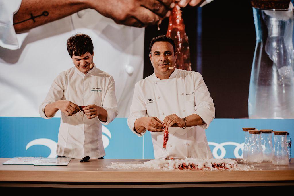 Innovación gastronómica y tecnología en Solera Motor de la mano del chef Ángel León