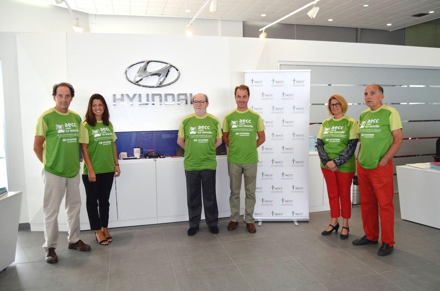 Guadalete Motor colabora en la VI edición de la Carrera contra el Cáncer en Cádiz