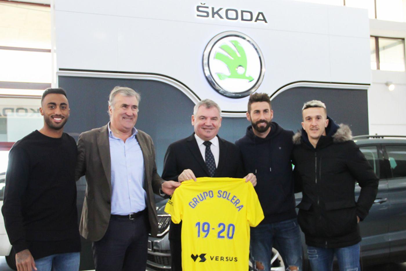 Grupo Solera renueva el acuerdo de patrocinio con el Cádiz CF