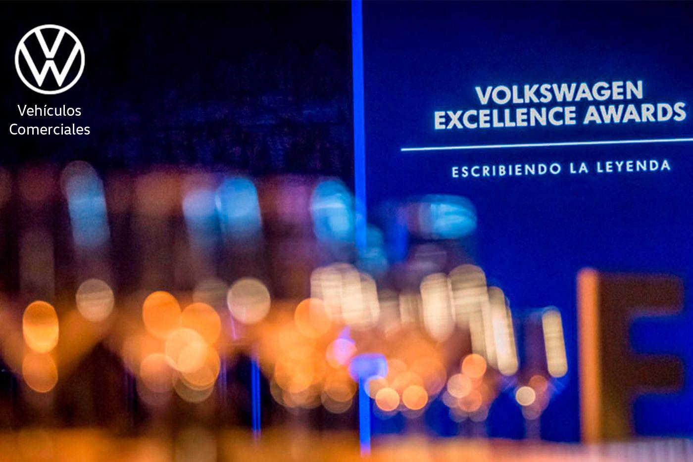 ¡Solera MotorVehículos Comerciales Volkswagen ha sido galardonado como Volkswagen Excellence Awards 2019!