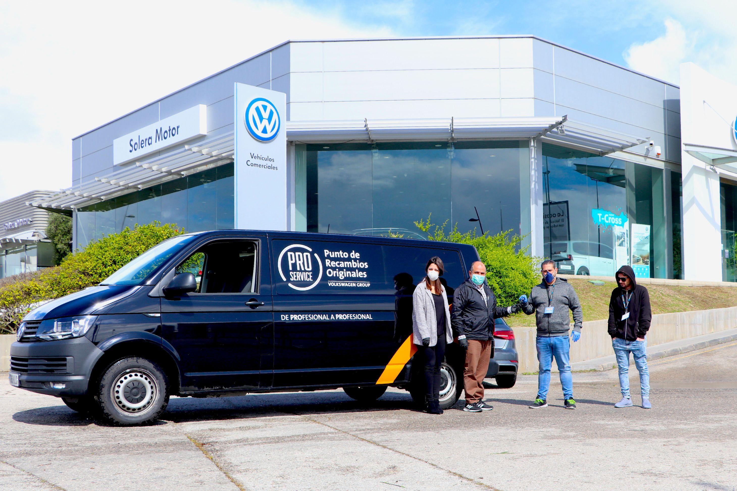 """Solera Motor Volkswagen con """"Costaleros por nuestros mayores"""""""