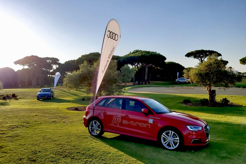 La Red Oficial de Concesionarios Audi en la provincia de Cádiz apoyando al golf en el Club Real Novo Sancti Petri