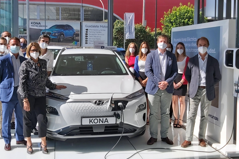 Visita del Director Comercial Hyundai en Guadalete Motor