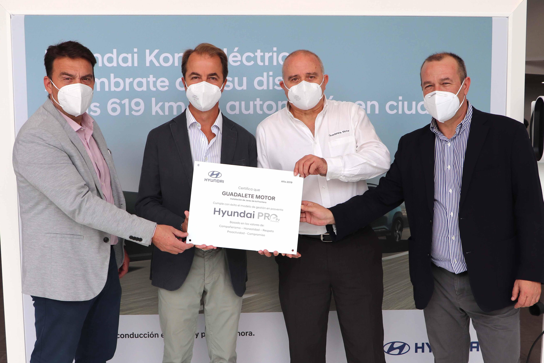 Hyundai otorga la excelencia a los servicios de Guadalete Motor