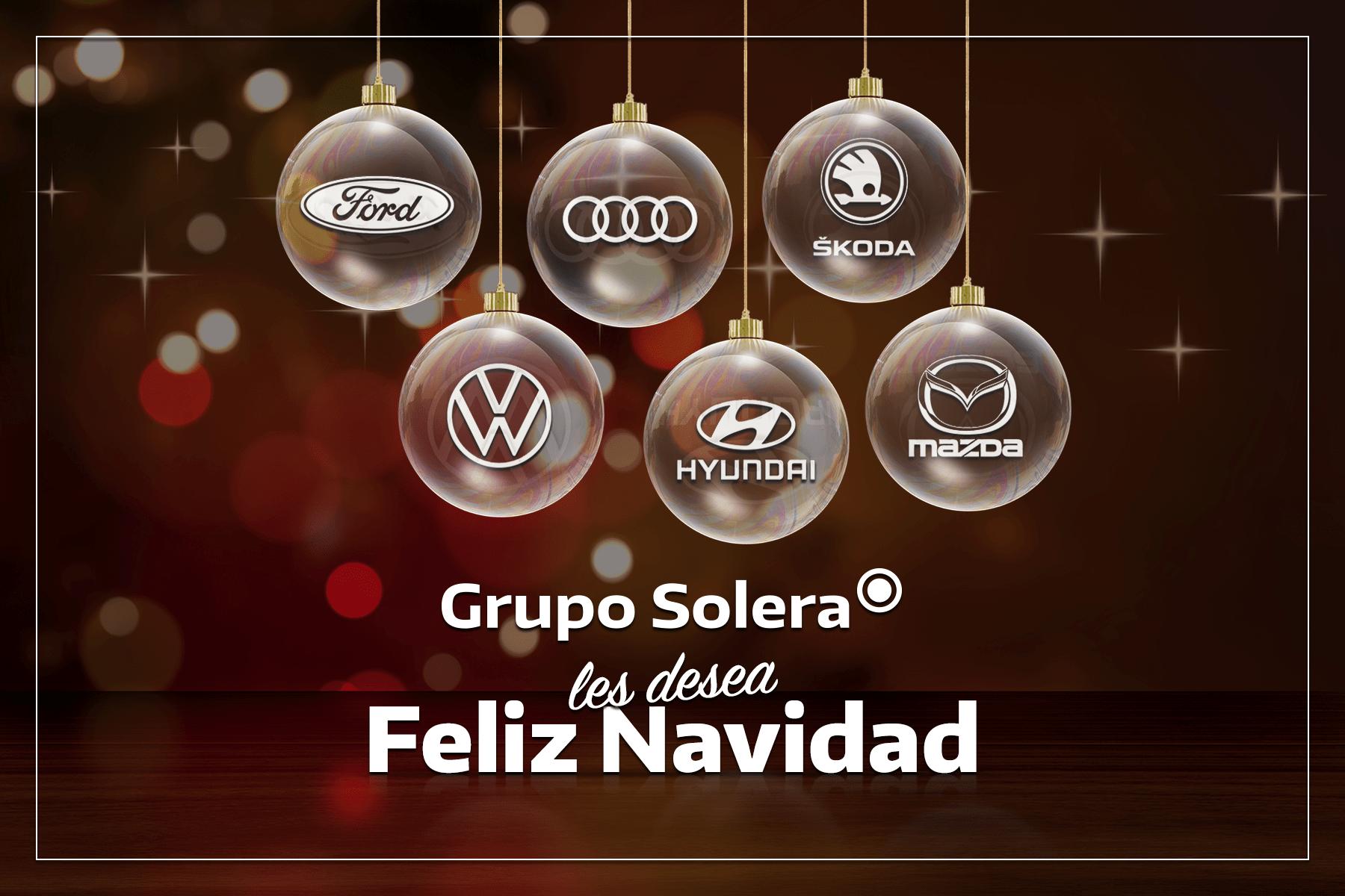 Grupo Solera les desea Feliz Navidad