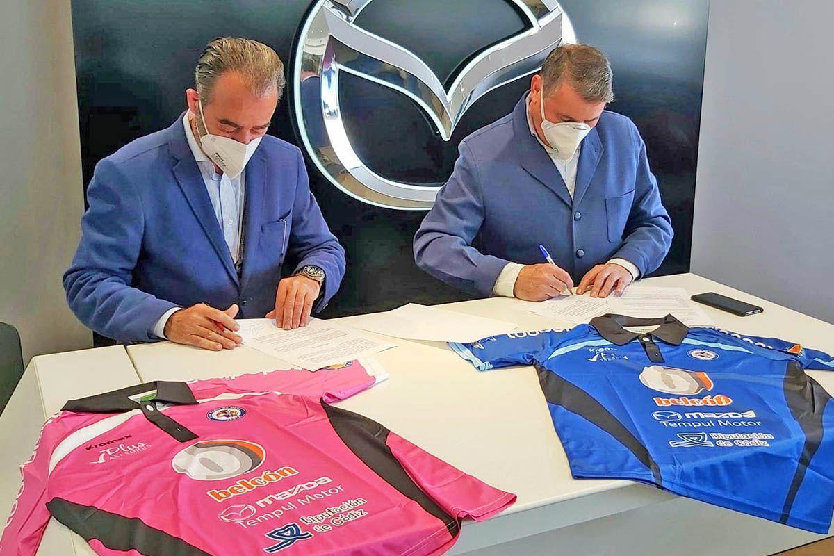 Tempul Motor patrocinador oficial de El Club Tenis de Mesa Jerez
