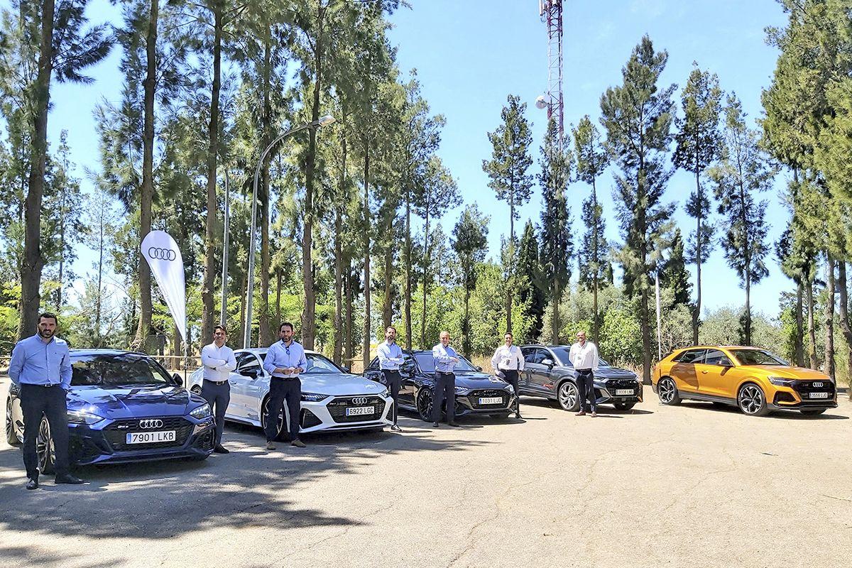 Más de 4.000 CV recorrieron la provincia con la Caravana RS de Audi